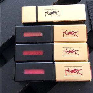 YSL full size lipstick * 4 + gift box